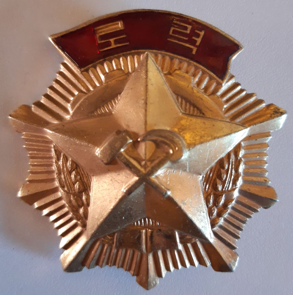 Ordres et médailles Corée du Nord Travai10