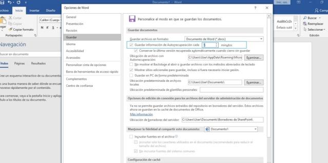 Así puedes recuperar archivos de Word  Guarda11