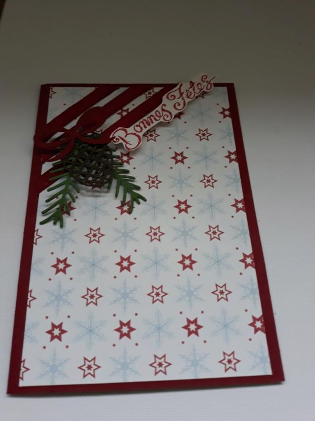Atelier carterie de Noël en ligne Cartel10