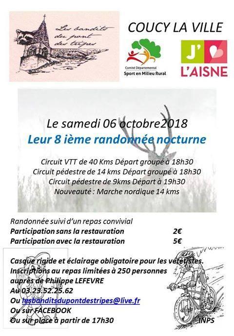 """nocturne """"bandits du pont des tripes"""" coucy la ville 06/10/18 40592910"""