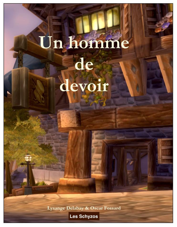 """""""Un homme de devoir"""" Editions Schyzos Couver11"""