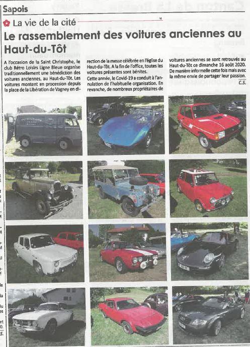 (88)[16/08/20] Benediction des vieilles autos au Haut du Tot - Page 3 8a572810