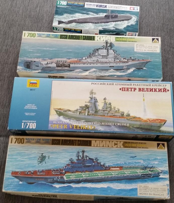 Flotte russe 1/700 20190410