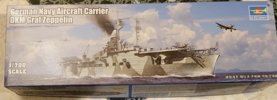 Flotte allemande 1/700  Trumpeter Graf10