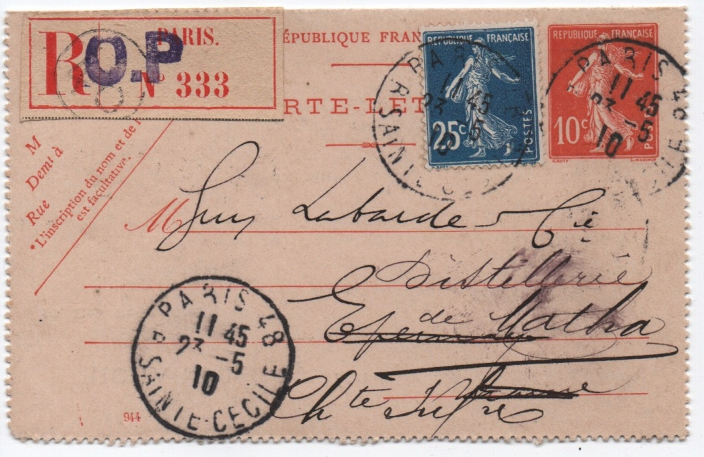 Carte lettre recommandée Zotiqu10