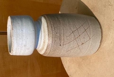 1960s vase with JT incised mark Img_0113