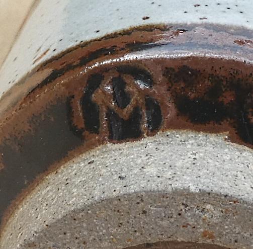 Stoneware Pen Pot, Andy Morley, Buckfastleigh Pottery  Pen_po12