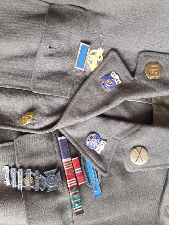 estimation veste de sortie et chemise US WWII 20190514