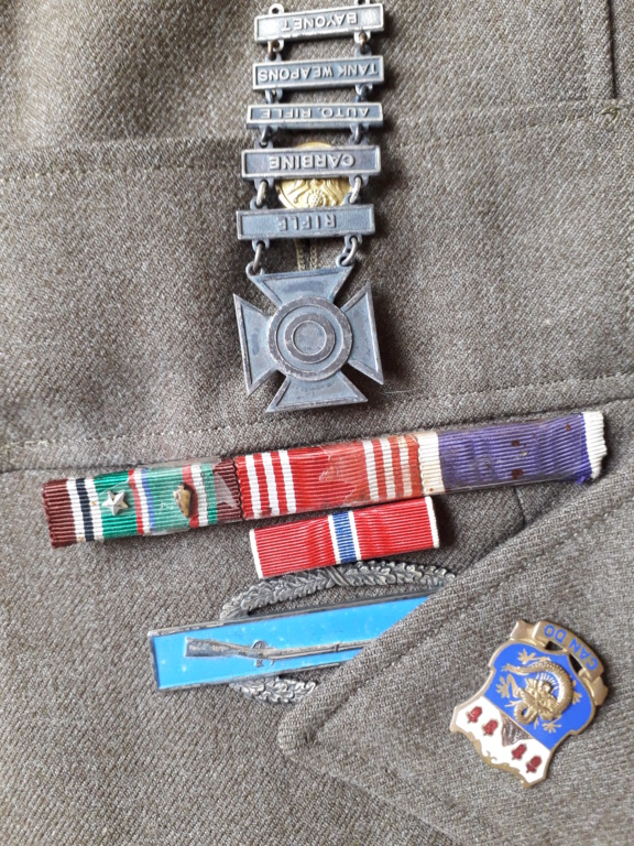 estimation veste de sortie et chemise US WWII 20190515
