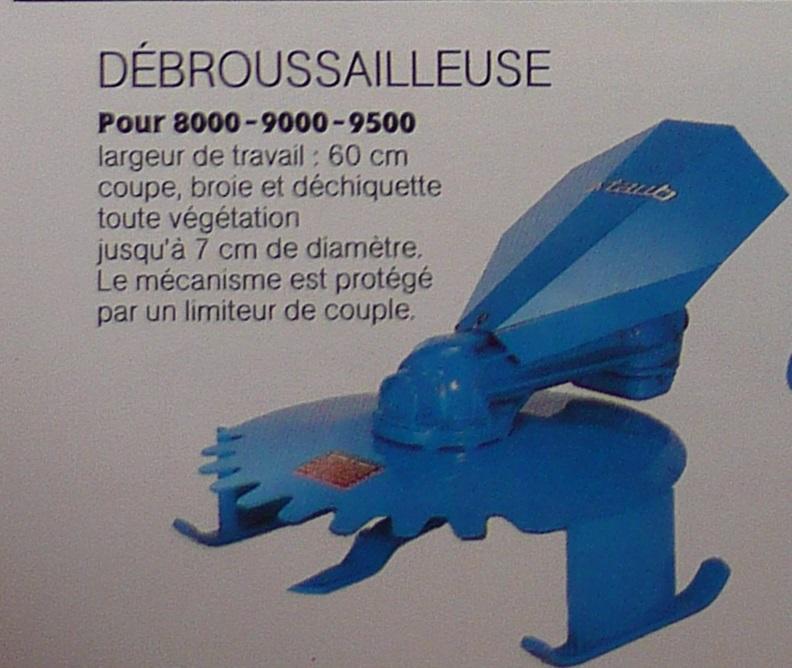 (Recherche) débroussailleuse pour staub 9500 P1200710