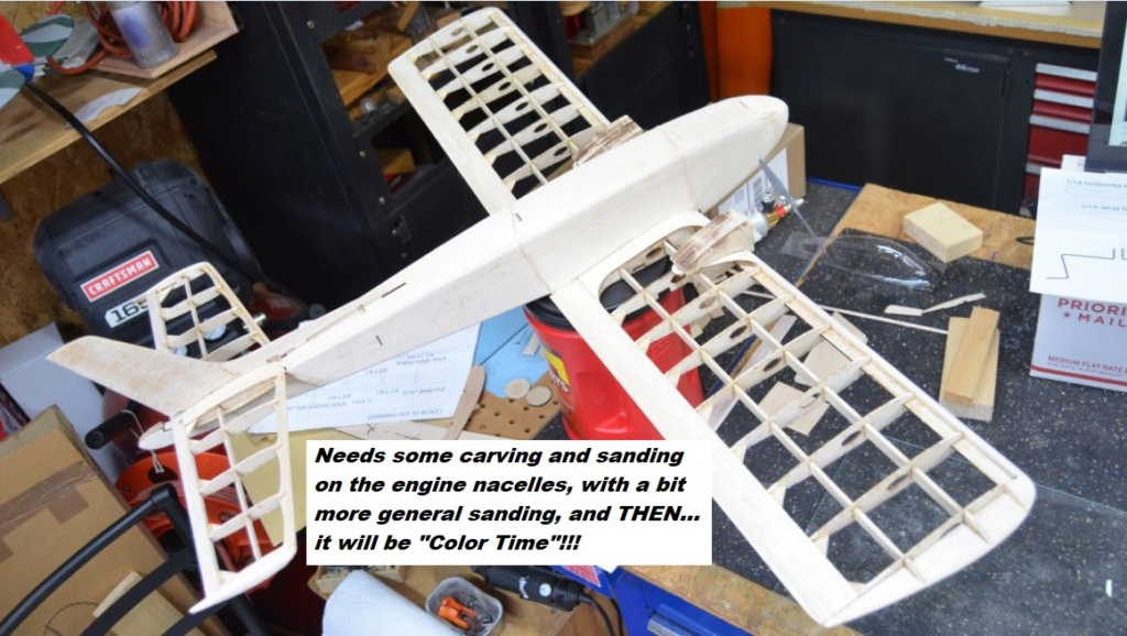 More Work on the Jr. Skylark-Still Clear Doping, But Getting Ready for Color  20_411