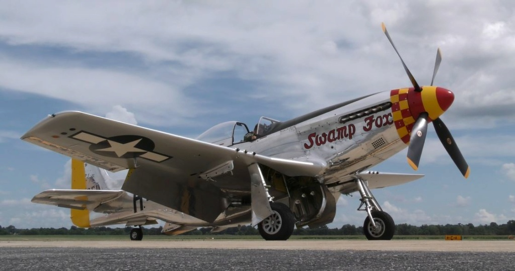 """On the Ramp Right Now:  P-51D """"Swamp Fox"""" Visits KCGI  - Page 26 2_109"""