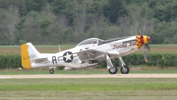 """On the Ramp Right Now:  P-51D """"Swamp Fox"""" Visits KCGI  - Page 26 3_80"""