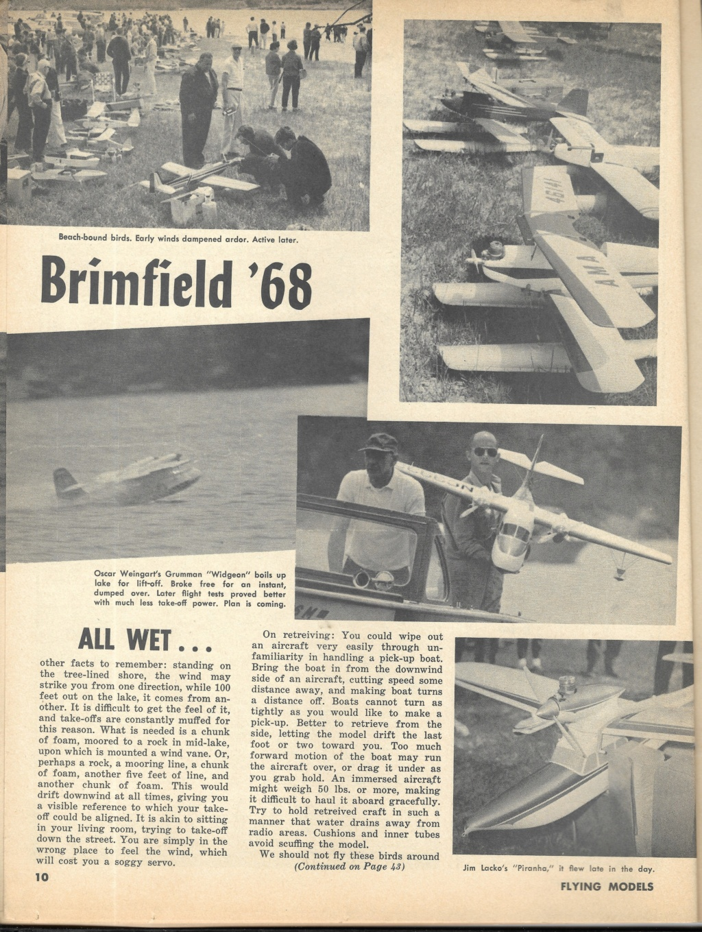 "Old Magazine Morning...""Another Model Airplane Hero"": Don McGovern's 'All Wet' column Flying Models 8/68 - Page 2 8_30"