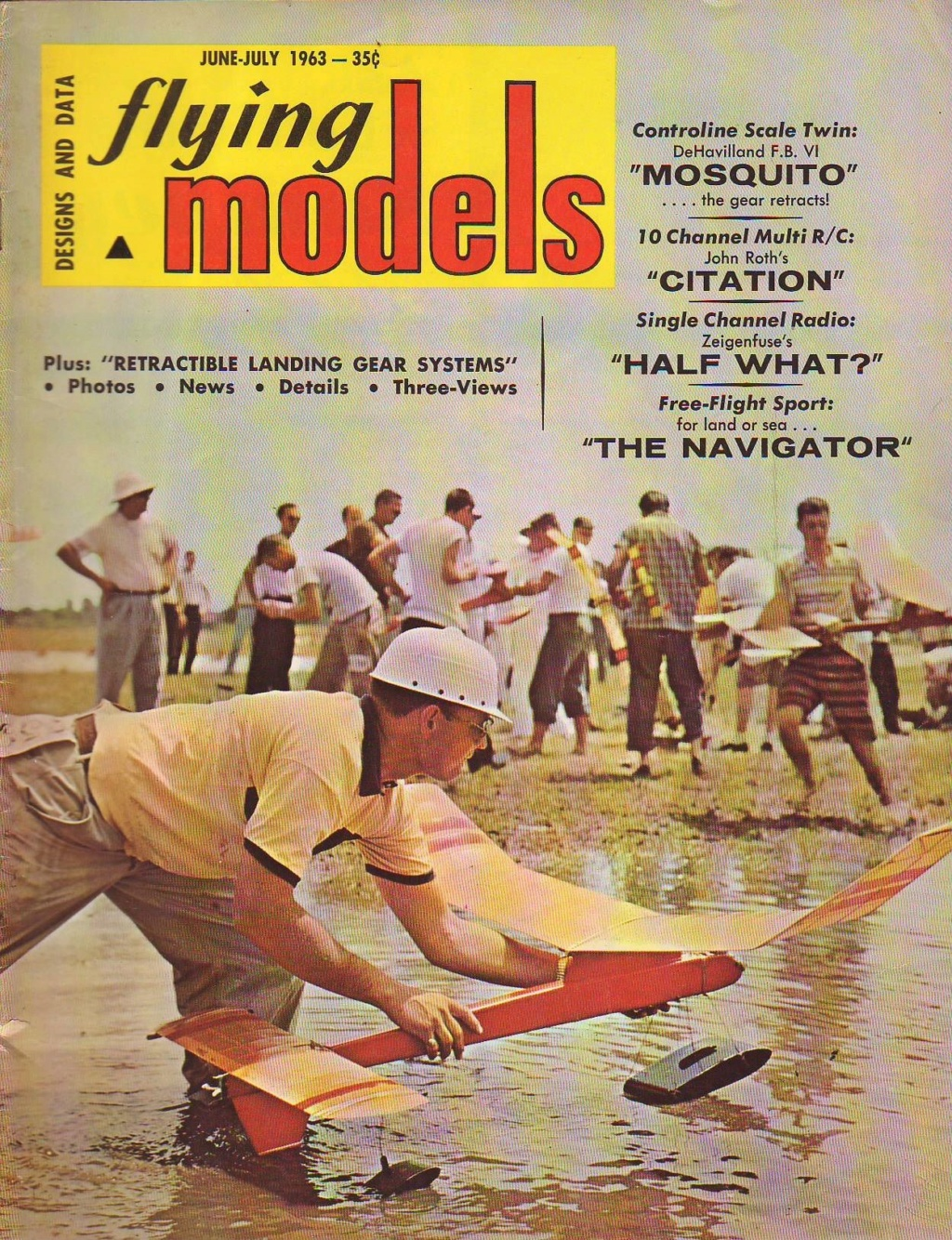 Got It !!!!!  Thank You!!!! Flying Models June-July 1963 Issue Flying12