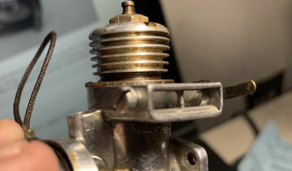Wen-Mac .049 exhaust throttle spring Wm_thr11