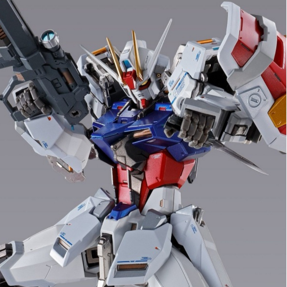 Strike gundam metal build infinity gundam seed.  Img_2318