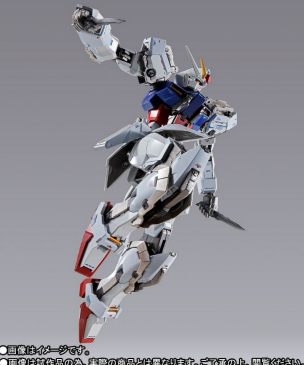 Strike gundam metal build infinity gundam seed.  Img_2321