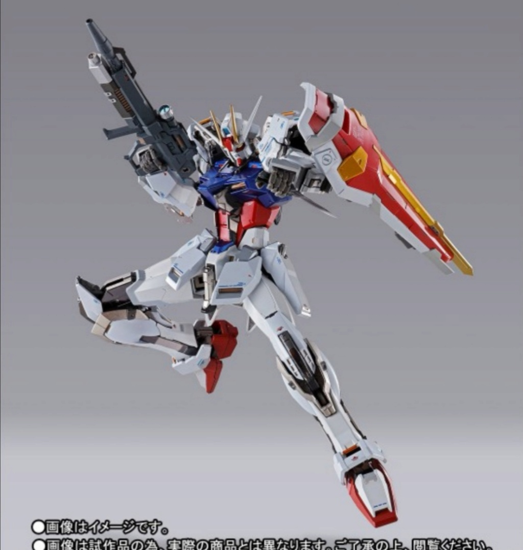 Strike gundam metal build infinity gundam seed.  Img_2326