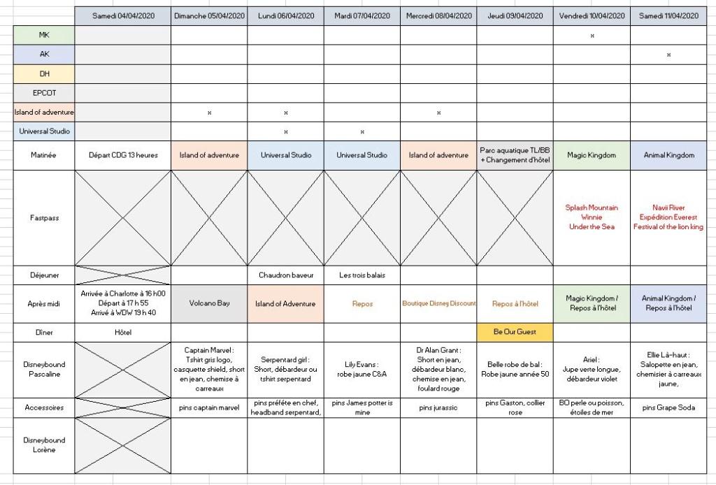 Pré-TR WDW et Universal Avril 2020 - Page 2 114
