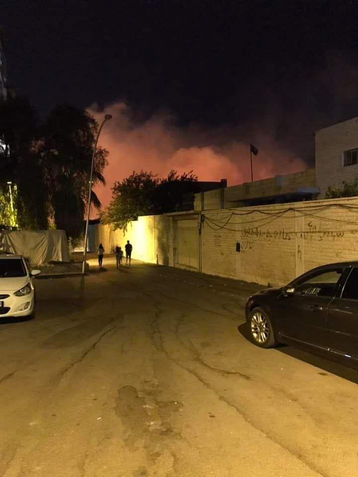 عاااجل بالصور مطار المزة يحترق 11/7/2019 Abf43610
