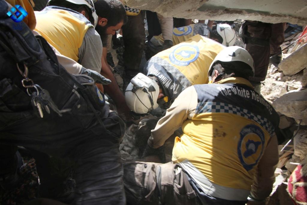 صور من مجزرة اريحا بريف ادلب ١٢/٧/٢٠١٩ Acb74d10