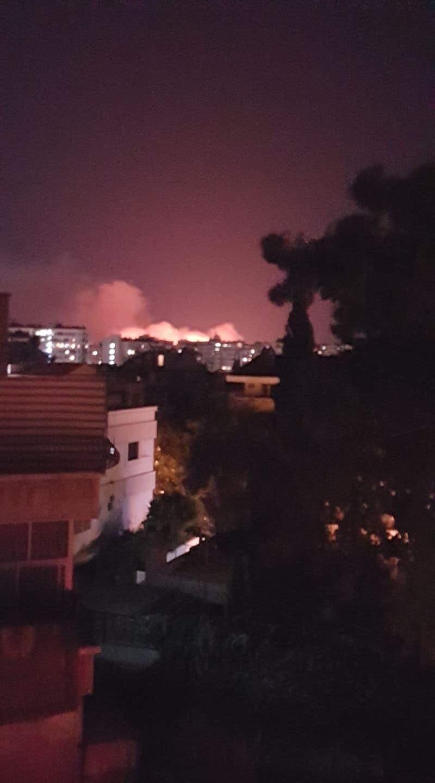 عاااجل بالصور مطار المزة يحترق 11/7/2019 D2d78e10