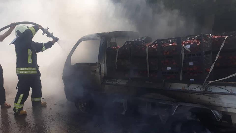 بالفيديو والصور مخففه في عفرين ١١/٧/٢٠١٩ Dbc66b10