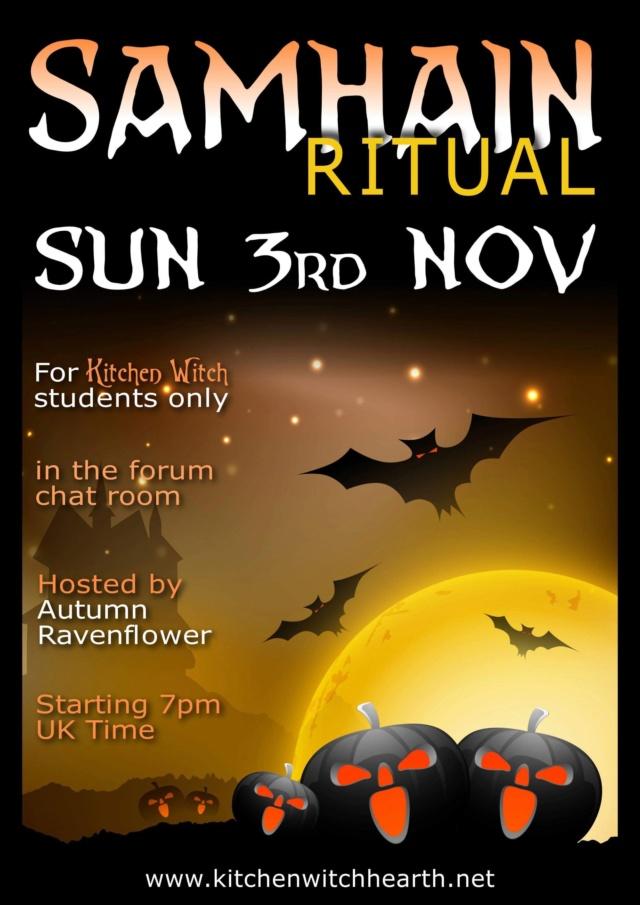 Online Samhain Ritual - Sun 3rd Nov E98cdc10
