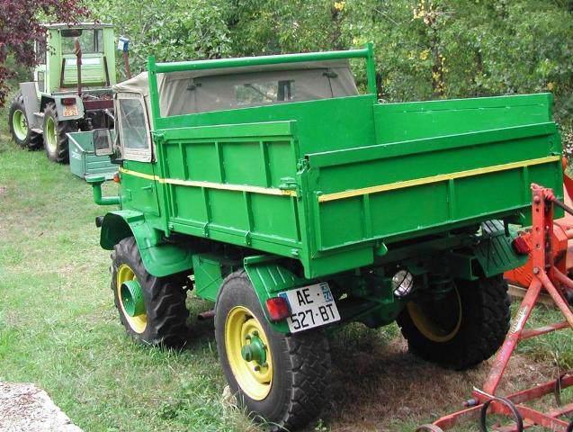 Vends UNIMOG 411 110 décapotable restauré Image210