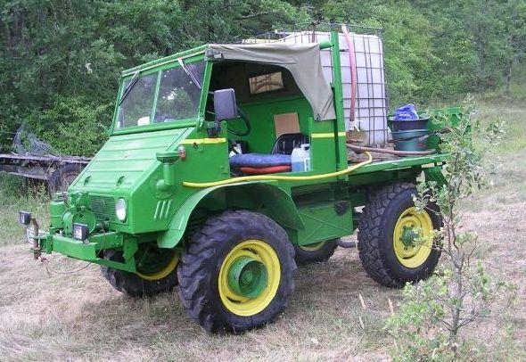 Vends UNIMOG 411 110 décapotable restauré Image510