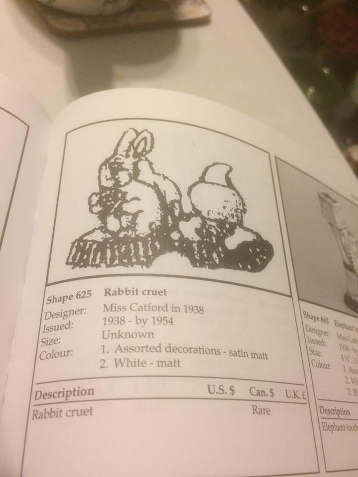 Beswick Ware Rabbit Cruet 43258910