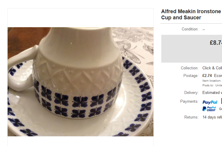NIce looking Trio unmarked but that looks like a Meakins Shape cup Alfred10