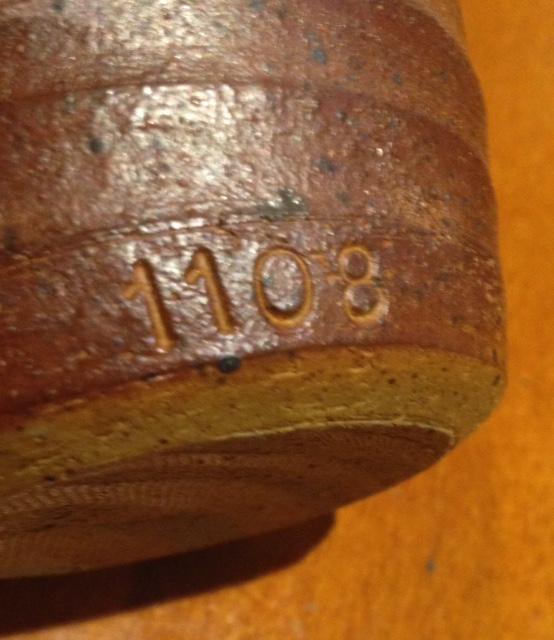 8 Stoke Gabriel Lotus Pottery mini Planter Pot Holder what are the numbers? Fullsi16