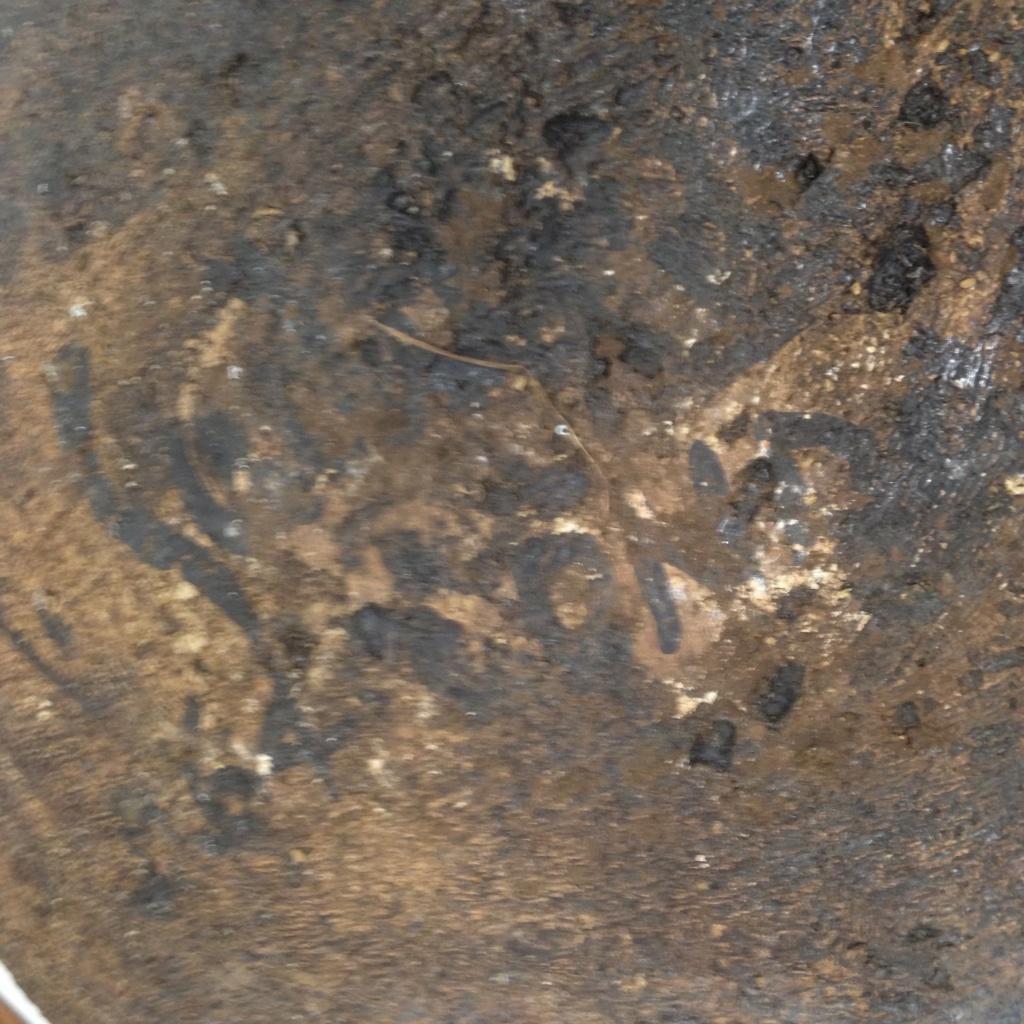 Interesting stoneware large bowl Img_2711