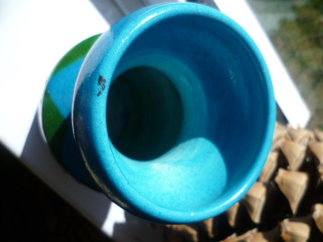 Bitossi Colours inspired Italian 8 inch vase P1320214
