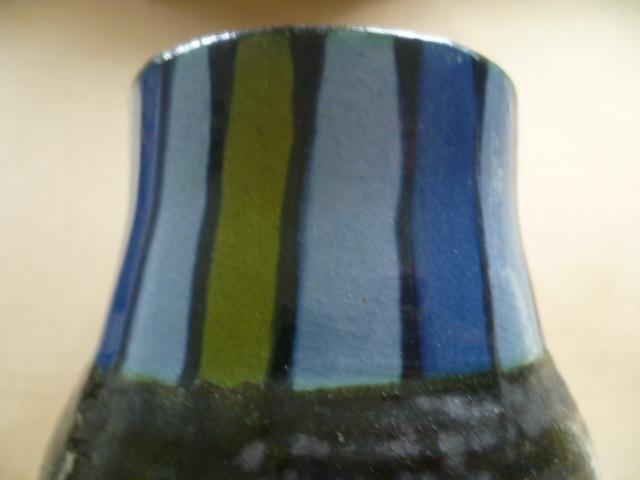 26 cm coil built vase - Torquay perhaps P1390414