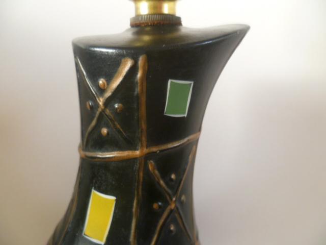An English version on 1950/60s Italian Pottery Lamp P1410718