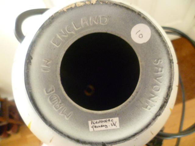 An English version on 1950/60s Italian Pottery Lamp P1410719