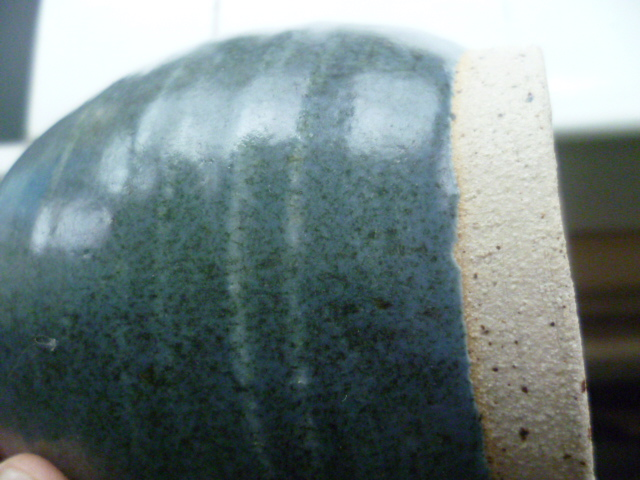 AW Initials Stoneware Pot Vase P1420813