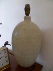 11.5'' Stoneware Lampbase - Impressed mark P1570810