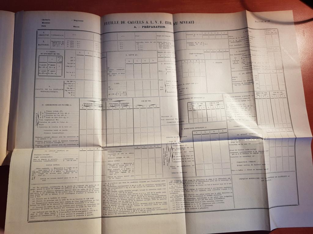 Documentation d'un officier d'artillerie 20181117
