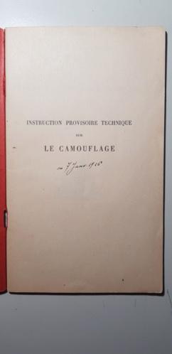 Instruction technique sur le camouflage  20190425