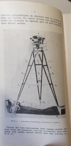 Materiel section de réglage par coups fusants hauts 1924 20190435