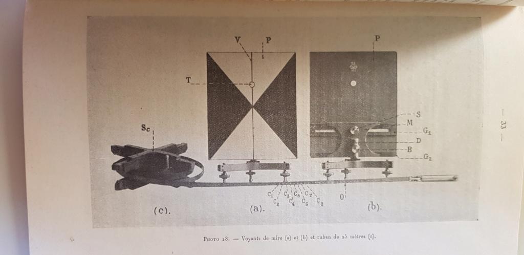 Materiel section de réglage par coups fusants hauts 1924 20190511