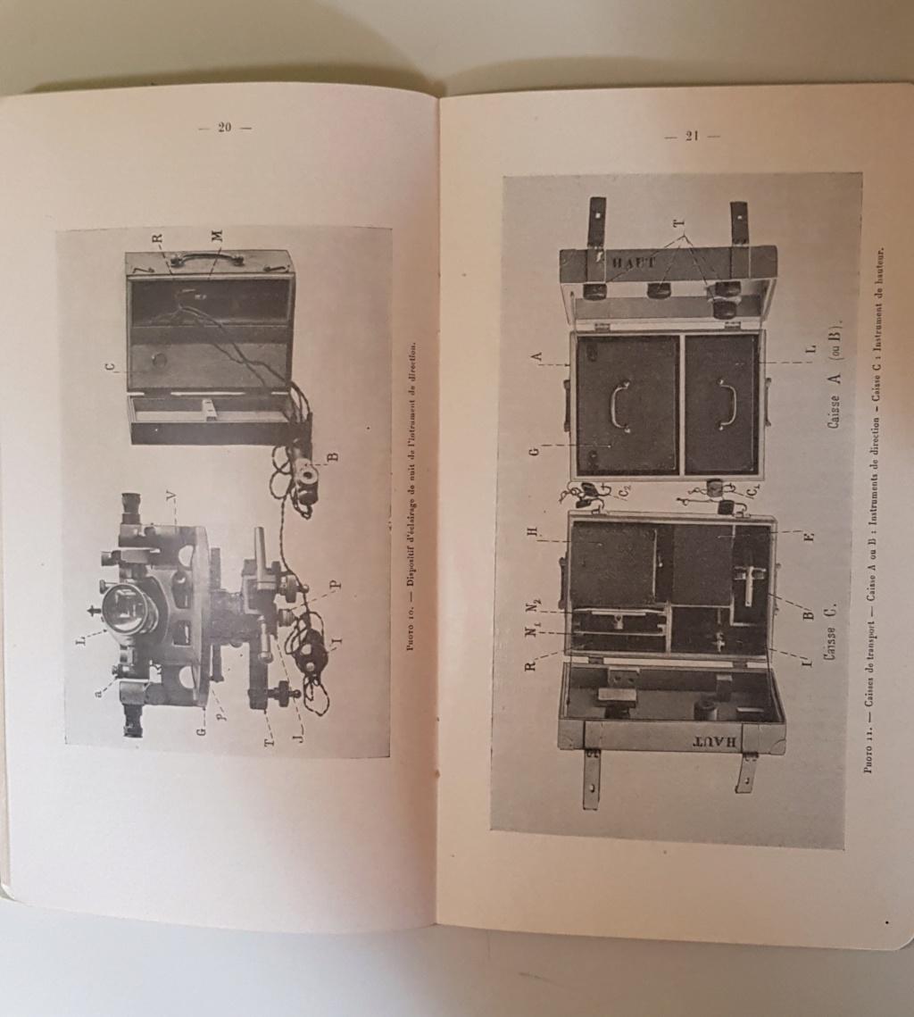 Materiel section de réglage par coups fusants hauts 1924 20190514