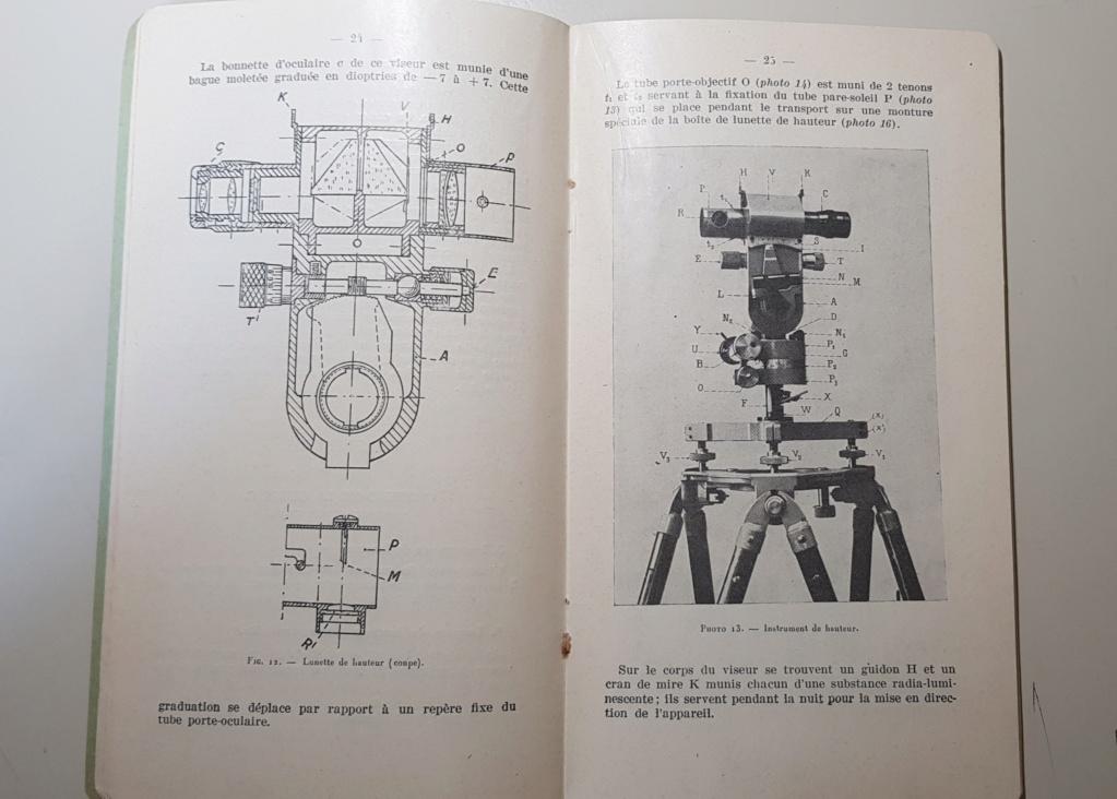 Materiel section de réglage par coups fusants hauts 1924 20190515