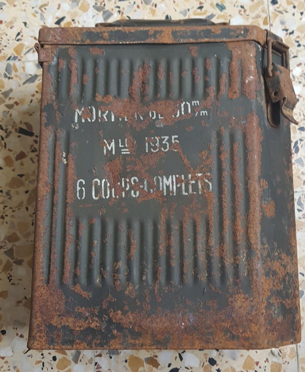 Le mortier de 60 mm modèle 1935  20190529