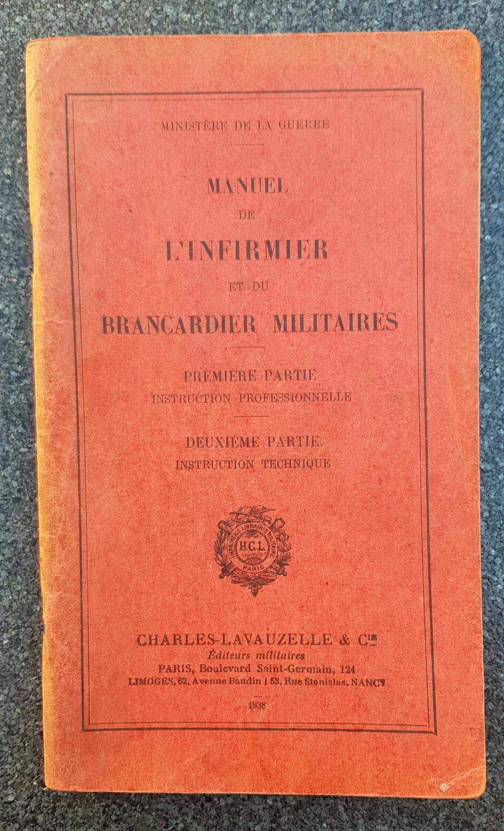 Manuel infirmier et brancardier militaire 20190611
