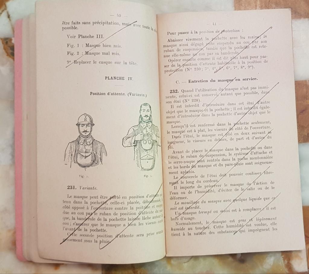 Instruction technique de protection contre les gazs - Edition 1929 20190620